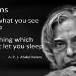 এ. পি. জে. আব্দুল কালামের জীবন থেকে নেওয়া কিছু বাস্তবতা
